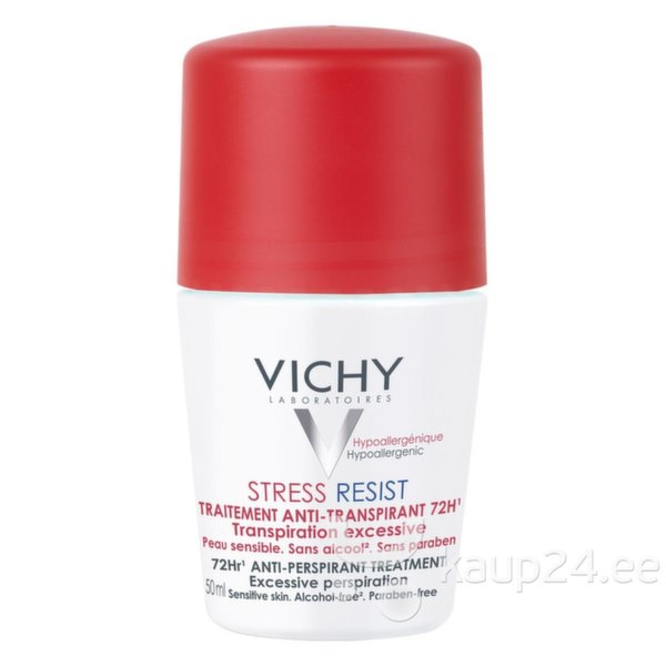 Rulldeodorant-antiperspirant Vichy Stress Resist 50 ml цена и информация | Deodorandid | kaup24.ee