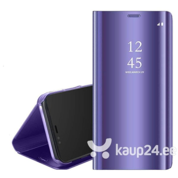 Mocco Clear View Cover Case For Samsung G973 Galaxy S10 Purple