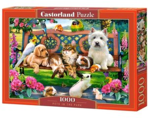 Pusle Puzzle Castorland Pets in the Park, 1000 osa hind ja info | Pusled | kaup24.ee