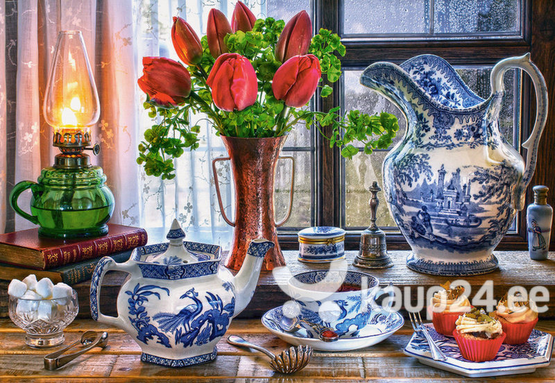 Pusle Puzzle Castorland Still Life with Tulips, 1000-osaline hind