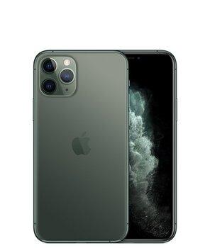 Apple iPhone 11 Pro, 64GB, Dual SIM, Roheline (Midnight Green)