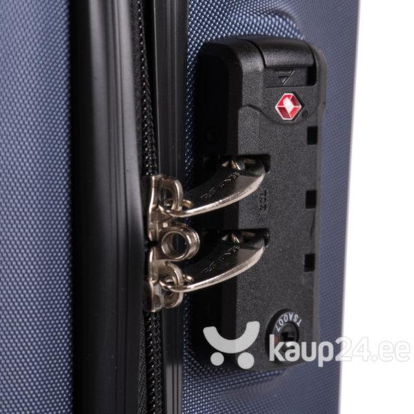 Väike kohver Wings Predator S, helehall tagasiside