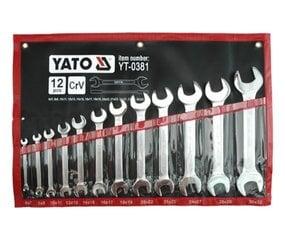 Hoidjaga võtmete komplekt Yato (YT-0381), 12 tk