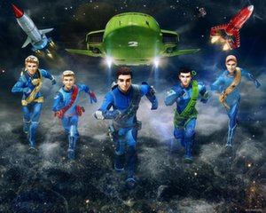 Фотообои Thunderbirds Are Go