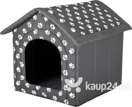 Maja-pesa Hobbydog R1 käpad, 38x32x38 cm, hall
