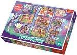 Pusle komplekt Trefl Enchantimals 10 in1 hind ja info | Pusled | kaup24.ee
