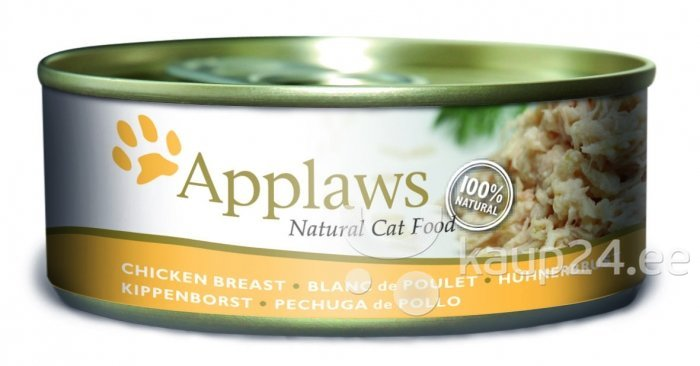 Applaws Cat Chicken Breast, 70 g цена и информация | Konservid kassidele | kaup24.ee