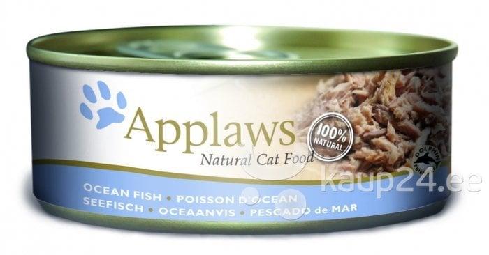 Applaws Cat Ocean Fish, 70 g цена и информация | Konservid kassidele | kaup24.ee