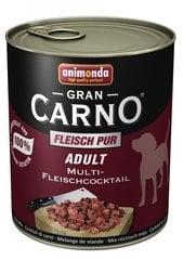 Koerakonserv erinevate lihadega, GRAN CARNO ADULT, 800 g hind ja info | Konservid koertele | kaup24.ee