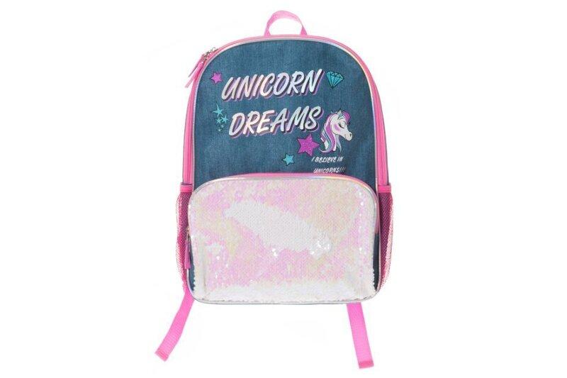 Seljakott Unicorn Blue