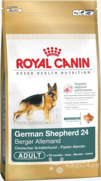Royal Canin German Shepherd Adult 12 kg цена и информация | Kuivtoit koertele | kaup24.ee