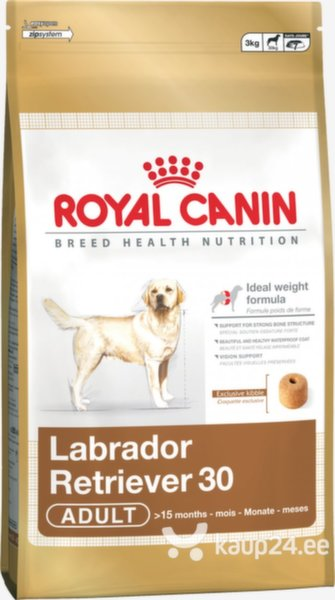 Royal Canin Labrador Retriever Adult 12 kg цена и информация | Kuivtoit koertele | kaup24.ee