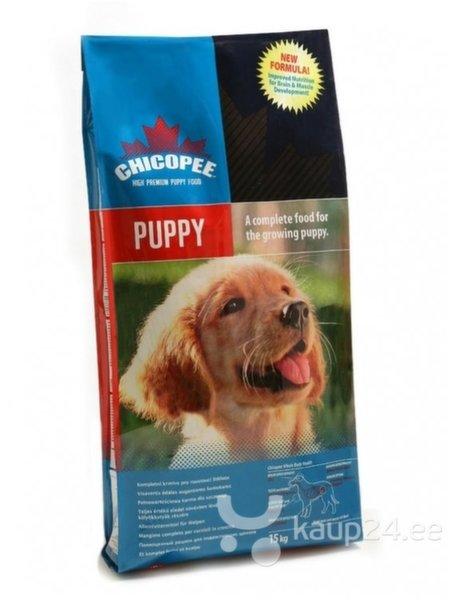 Chicopee Puppy 20kg цена и информация | Kuivtoit koertele | kaup24.ee