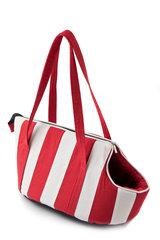 Comfy loomade transportkott Marina, valge/punane, 35x20x34 cm hind ja info | Transportkorvid, puurid | kaup24.ee