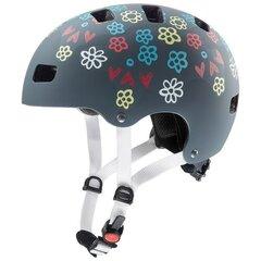 Велосипедный шлем Uvex Kid 3 CC, серый