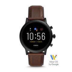 Fossil Gen 5 FTW4026, 44 мм, Black/Brown цена и информация | Смарт-часы (smartwatch) | kaup24.ee