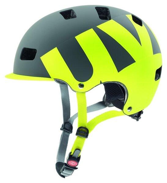 Шлем велосипедиста Uvex HLMT 5 Bike Pro, серый / зеленый
