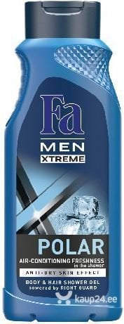 Dušigeel meestele Fa Men Xtreme Polar 400 ml