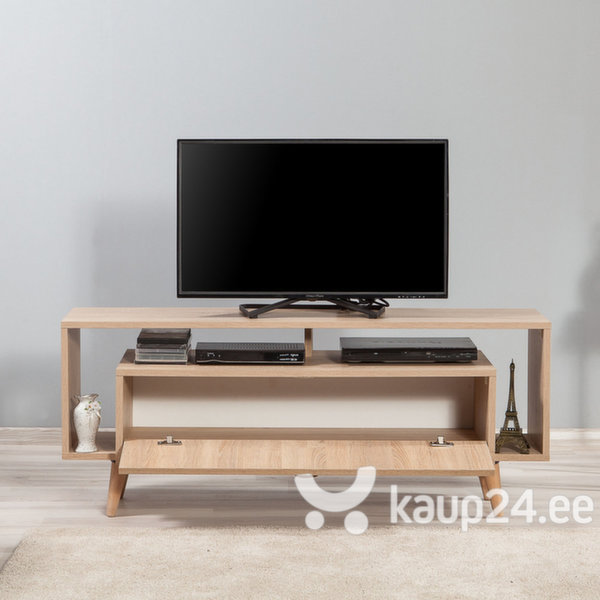 TV-laud Selsey Smartser 130 cm, tamm