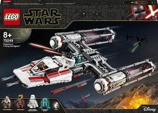 75249 LEGO® Star Wars™ Episode IX Vastupanujõudude Y-Wing Starfighter™