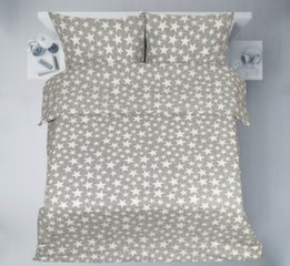 3D voodipesukomplekt, 4-osaline