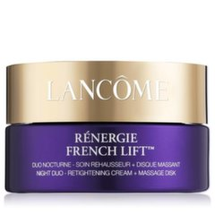 Taastav öökreem Lancome Renergie French Lift Night Duo 50ml + massaažiketas