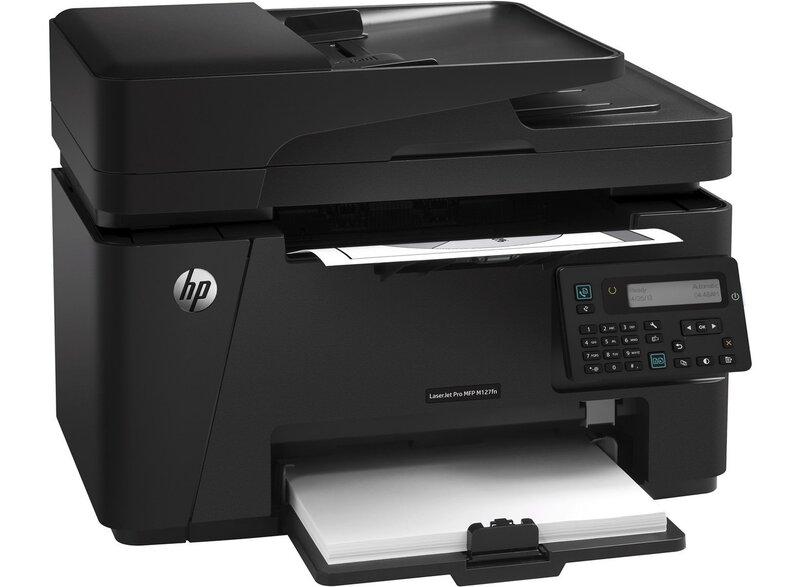 Multifunksionaalne laserprinter must/valge HP LaserJet Pro M127fn цена и информация | Printerid | kaup24.ee