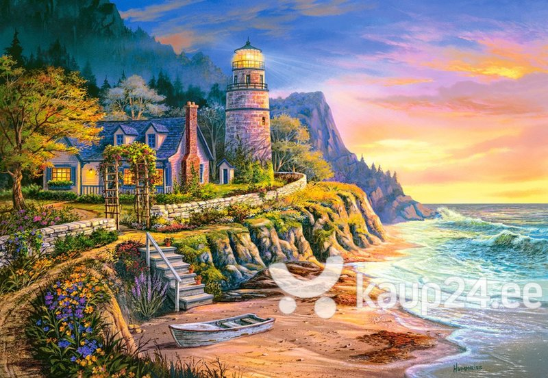 Pusle Puzzle Castorland Lighting the Way, 1000 tk цена