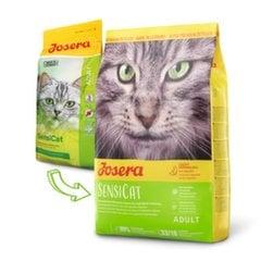 Kuivtoit Josera tundliku seedesüsteemiga kassidele SensiCat, 2 kg hind ja info | Kuivtoit Josera tundliku seedesüsteemiga kassidele SensiCat, 2 kg | kaup24.ee