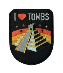 Shadow of the Tomb Raider - I Love Tombs Iron Patch hind ja info | Fännitooted mänguritele | kaup24.ee