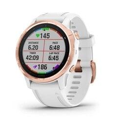 Garmin Fenix 6S PRO/R.GOLD/WH 010-02159-11 hind ja info | Nutikellad (smartwatch) | kaup24.ee