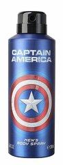 Kehasprei Marvel Capitan America 200 ml