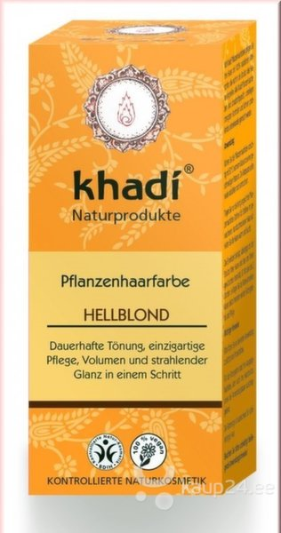Blondid juuksevärv Khadi Light Blond 100g