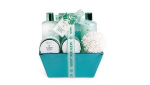 Vannikomplekt IDC Institute Scented Emerald Basket