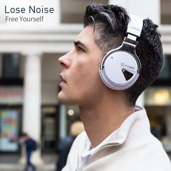 Juhtmevabad kõrvaklapid Cowin E7 ANC, Valge цена