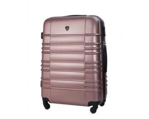 Suur kohver Solier STL838, roosa