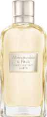 Parfüümvesi Abercrombie & Fitch First Instinct Sheer EDP naistele 100 ml
