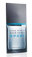 Tualettvesi Issey Miyake L'eau D'issey Pour Homme Sport EDT meestele 50 ml
