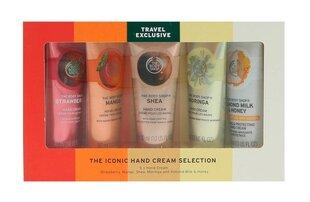 Kätekreemide komplekt The Body Shop Iconic Selection Travel Exclusive, 5 tk