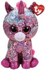 Плюшевая игрушка TY Flippables SPARKLE  блестящий единорог, 15 см, 36266