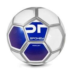 Jalgpalli pall Spokey Mercury, suurus 5, valge/sinine hind ja info | Jalgpalli pall Spokey Mercury, suurus 5, valge/sinine | kaup24.ee