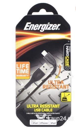 Energizer Hardcase Lightning Resistant Metallic 1.2m, Must (C41UBLIGBKM)