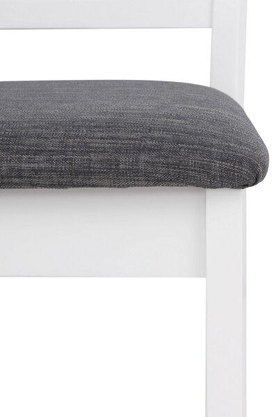 2-tooli komplekt Sori, valge/hall