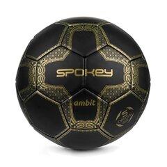 Jalgpalli pall Spokey Ambit, suurus 5, must