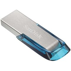 SanDisk Ultra Flair USB 3.0 128GB, Sinine