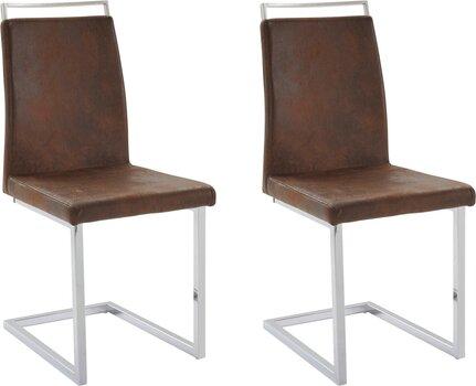 Комплект из 2-х стульев Jella, коричневый