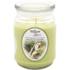 Candle-lite lõhnaküünal Willow Lane Lemongrass & Ginger