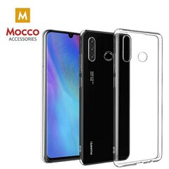 Mocco Ultra Back Case 0.3 mm Silicone Case for Huawei P30 Lite Transparent hind ja info | Mocco Ultra Back Case 0.3 mm Silicone Case for Huawei P30 Lite Transparent | kaup24.ee