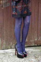 STIINA 40DEN sinised sukkpüksid hind ja info | Naiste sukkpüksid, sokid ja retuusid | kaup24.ee