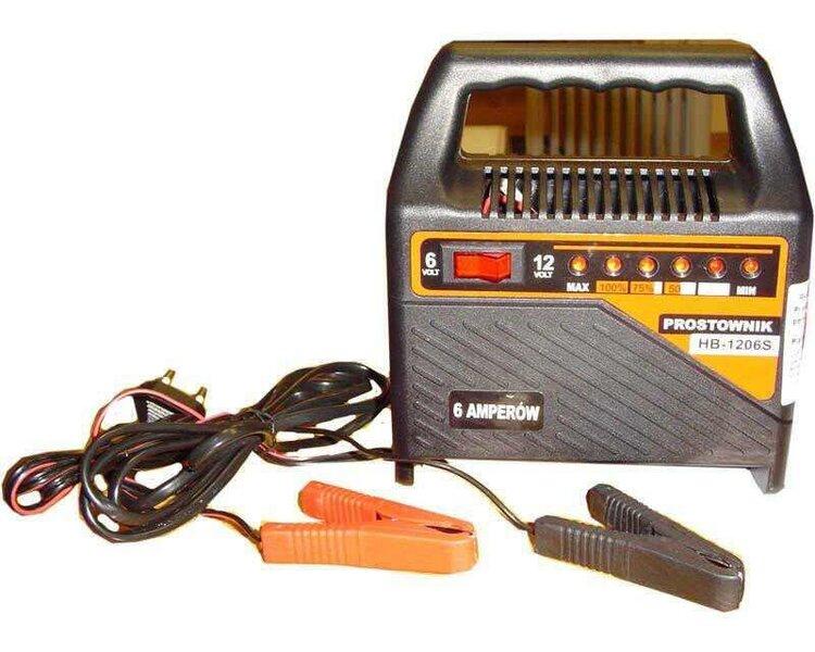 Akulaadija 6 - 12V\6A HB 1206-S цена и информация | Akulaadijad | kaup24.ee